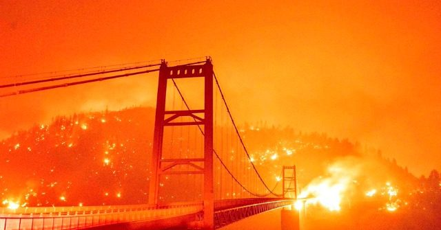 Dems Blame Wildfires on Global Warming: Green New Deal Is Not Radical