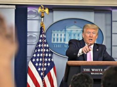 Watch Live: President Donald Trump Holds a Press Conference