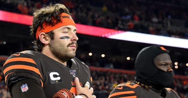 Baker Mayfield Reverses Course, Will Stand for the Anthem