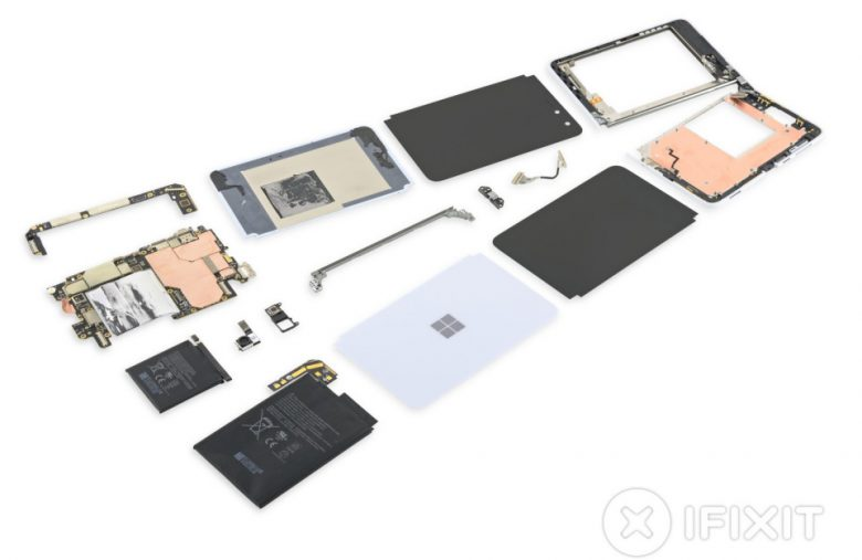 Microsoft Surface Duo teardown reveals 'refreshingly simple hinge design'