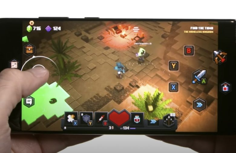 'Minecraft Dungeons' on xCloud has been optimized for touchscreens
