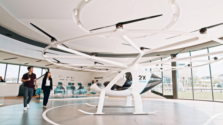 Volocopter kicks off presales for its first air taxi flights — with a wait time of 2-3 years