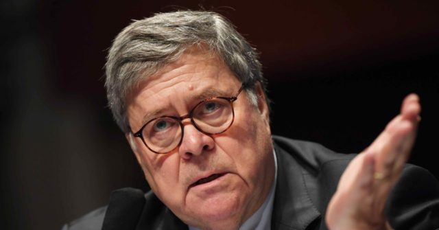 AG Bill Barr Slams Democrats for Demanding 'Biden or No Peace': 'Rule by the Mob'