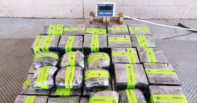 326 Pounds of Meth Seized at Texas Border Crossing