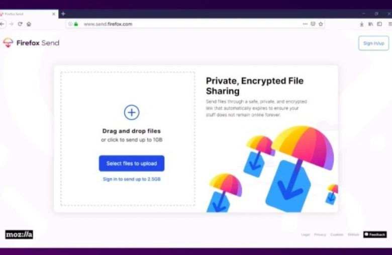 Mozilla is shutting down Firefox Send and Notes