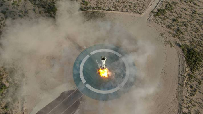 NASA to test precision automated landing system designed for the Moon and Mars on upcoming Blue Origin mission