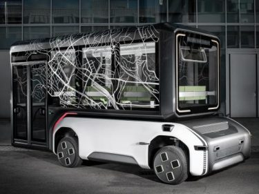 German space agency reveals an autonomous, electric urban mobility prototype for use right here on Earth
