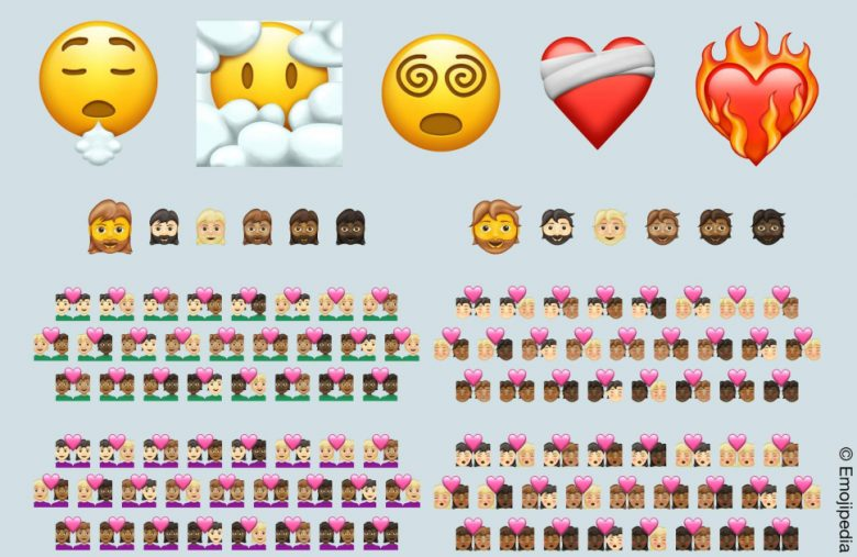 Minor emoji update for 2021 adds 200 skintone variants for couples