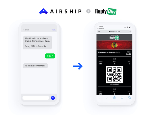 Airship acquires SMS commerce company ReplyBuy