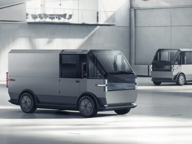 Canoo's multipurpose electric van looks like it's built out of Lego