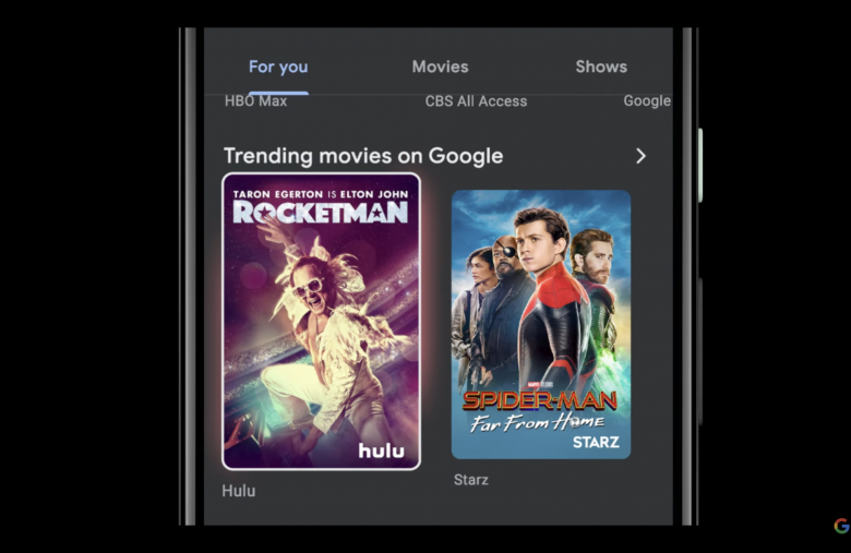 Google TV update brings Discovery+ and more live TV to the Android app